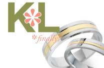 Ken & Lauren's wedding logo